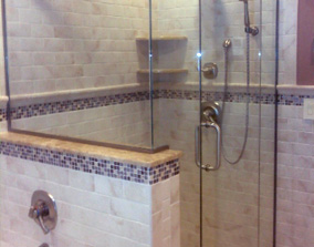 Home Remodeling Bloomingdale NJ - Kitchen, Bathroom | Can Do All - custom-glass-shower-enclosure-for-bathroom-remodel